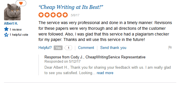 CheapWritingService Review