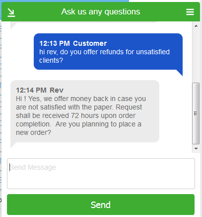 Superior Papers Live Chat
