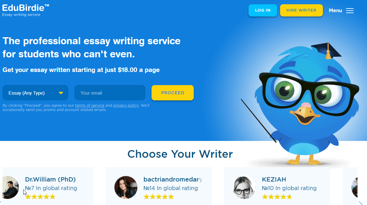 Edubirdie Review – A Service That Delivers No More Than Average Quality Work